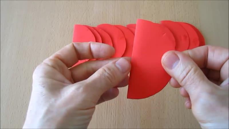 DIY_ Deko-Kugel aus Papier _ Decoration ball paper