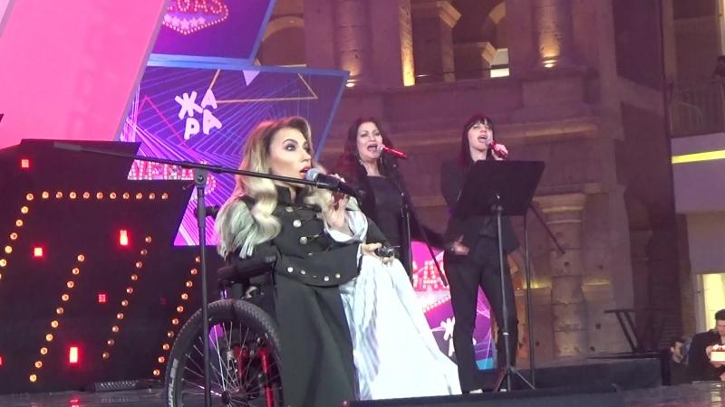 Юлия Самойлова(Moscow Eurovision Pre-Party,Жара,Кунцево,7.4.18)