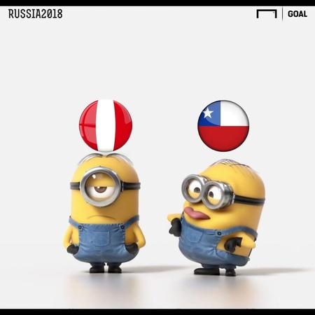 """Goal en Español on Instagram 🔥 ¡En Chile ya están destrozando a Perú tras su eliminación del Mundial 🔥"""""""