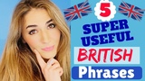 5 Most USEFUL British Expressions Improve your english Fluency, Sound like a Native !