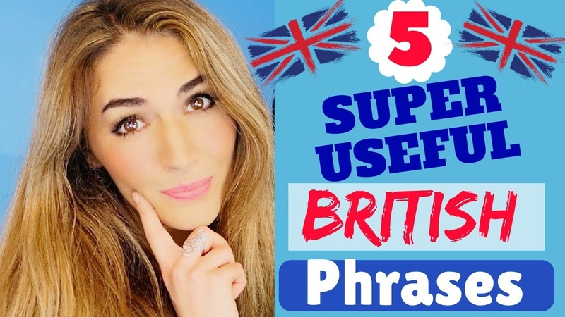 5 Most USEFUL British Expressions Improve your english Fluency Sound like a Native