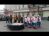 Харинама в Екатеринбурге с Арджуной Кришной дасом 27.01.2018