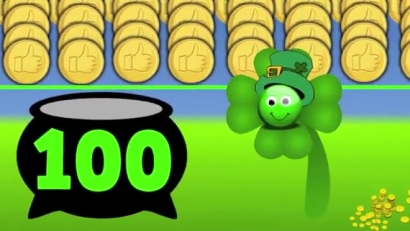 Counting with a Leprechaun! (St. Patrick39;s Day counting song for kids)