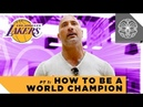 """Teaching the Los Angeles Lakers How to Be World Champions Dwayne Johnson's """"Genius Talk"""" Part 1"""