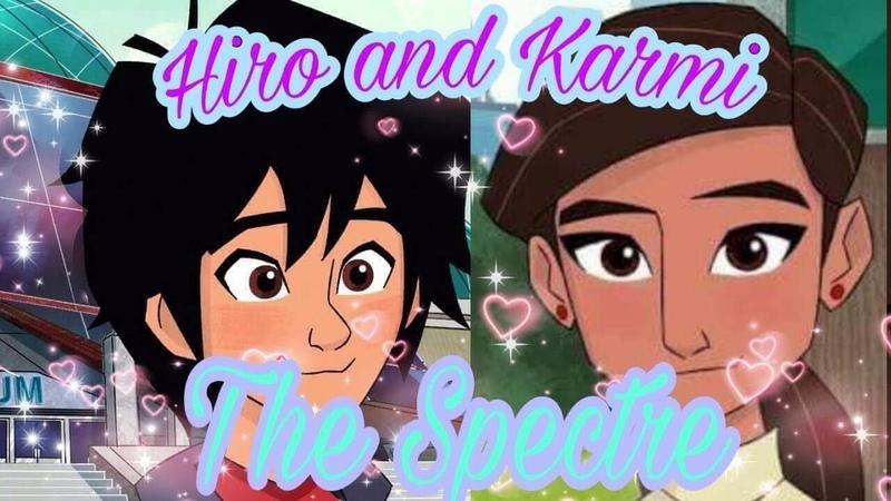 Big hero 6 the series-Hiro and Karmi-the Spectre