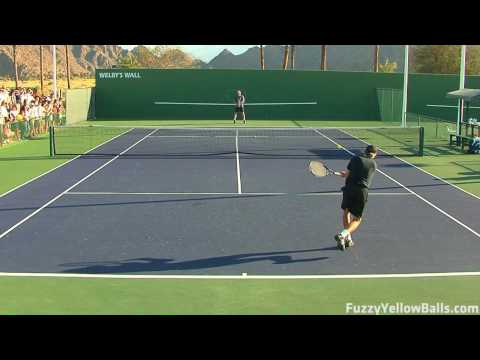 Andy Roddick hitting in High Definition