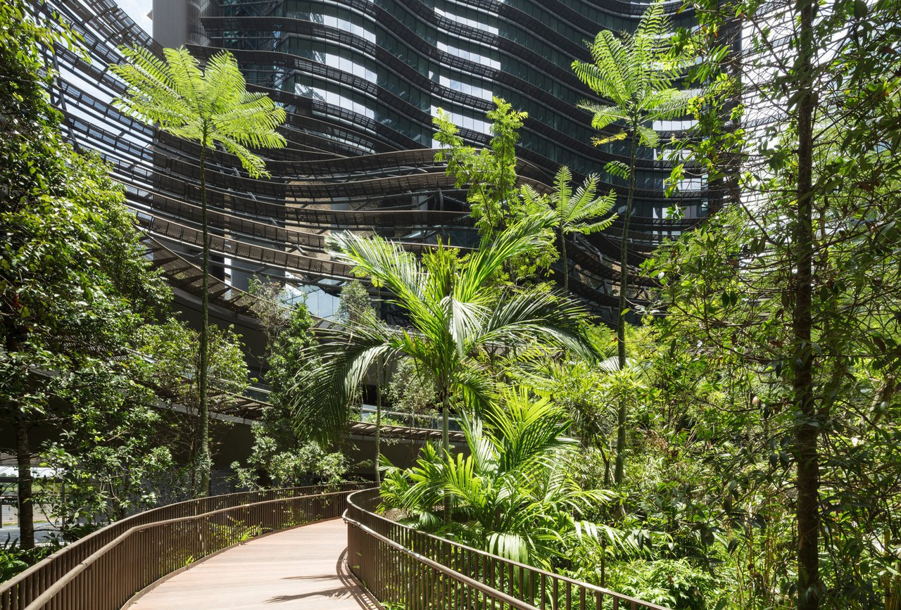 Green Heart | Marina One Singapore / ingenhoven architects