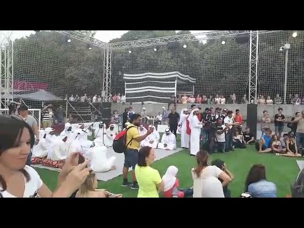 Sun Drums (Majlis Qatar in Gorky park)
