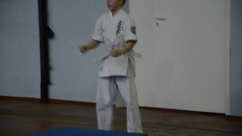 Ukemi.Test in Arashi Karate 30.12.2017. St.Petersburg,Kronstadt