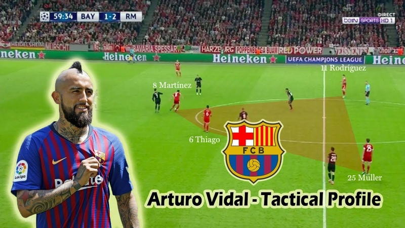 Arturo Vidal - Tactical Profile - New Barcelona Signing - Player Analysis