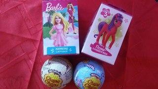 Открываем свит боксы и шоколадные шарики Chupa-Chups по мультику Scooby Doo