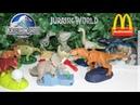 Jurassic World Mc Lanche Feliz Junho de 2018 Mcdonalds - Jurassic World Mcdonald's