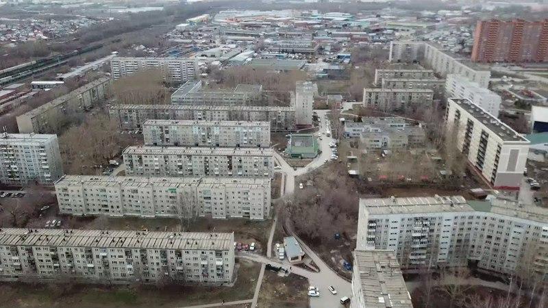 Северо Чемской с высоты птичьего полёта