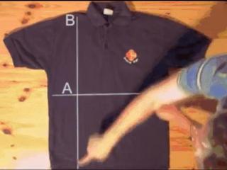 Как за секунду сложить футболку?