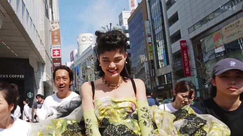 ドルチェ&ガッバーナのオートクチュールコレクションを東京で撮影。