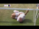 Шведский теннисист «исполнил Неймара» во время матча на Уимблдоне