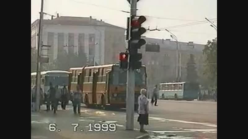 Рязань общественный транспорт 1999