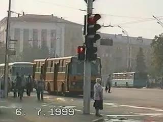Рязань, общественный транспорт (1999)