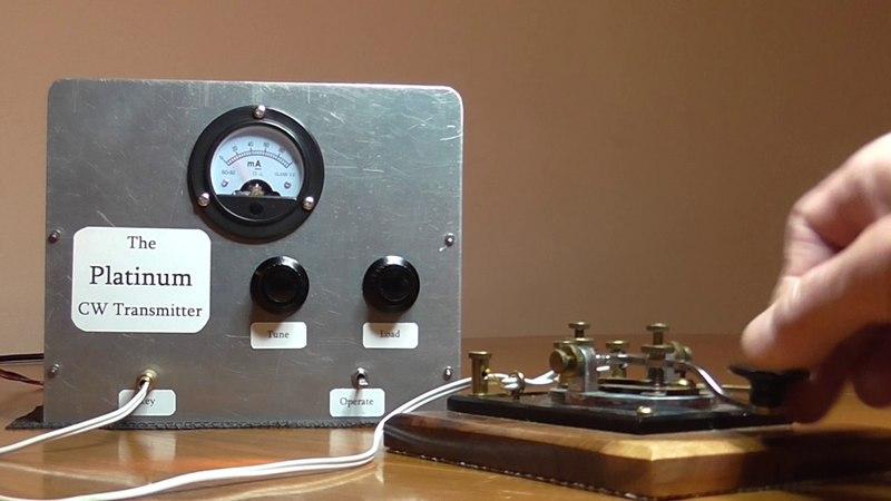 Valve QRP CW - The Platinum Transmitter