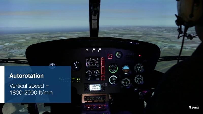 Simulated Failure Procedure FFS AS350 B3/H125 - Engine Fire