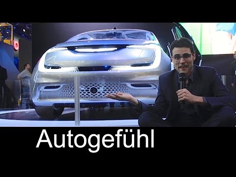 Chrysler Portal Electric Concept Car review with Lounge Seat Speakers Autogefühl