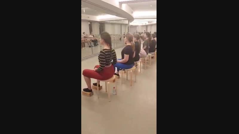 Занятие Айкуне в студии Дианы Вишневой Context Pro 1
