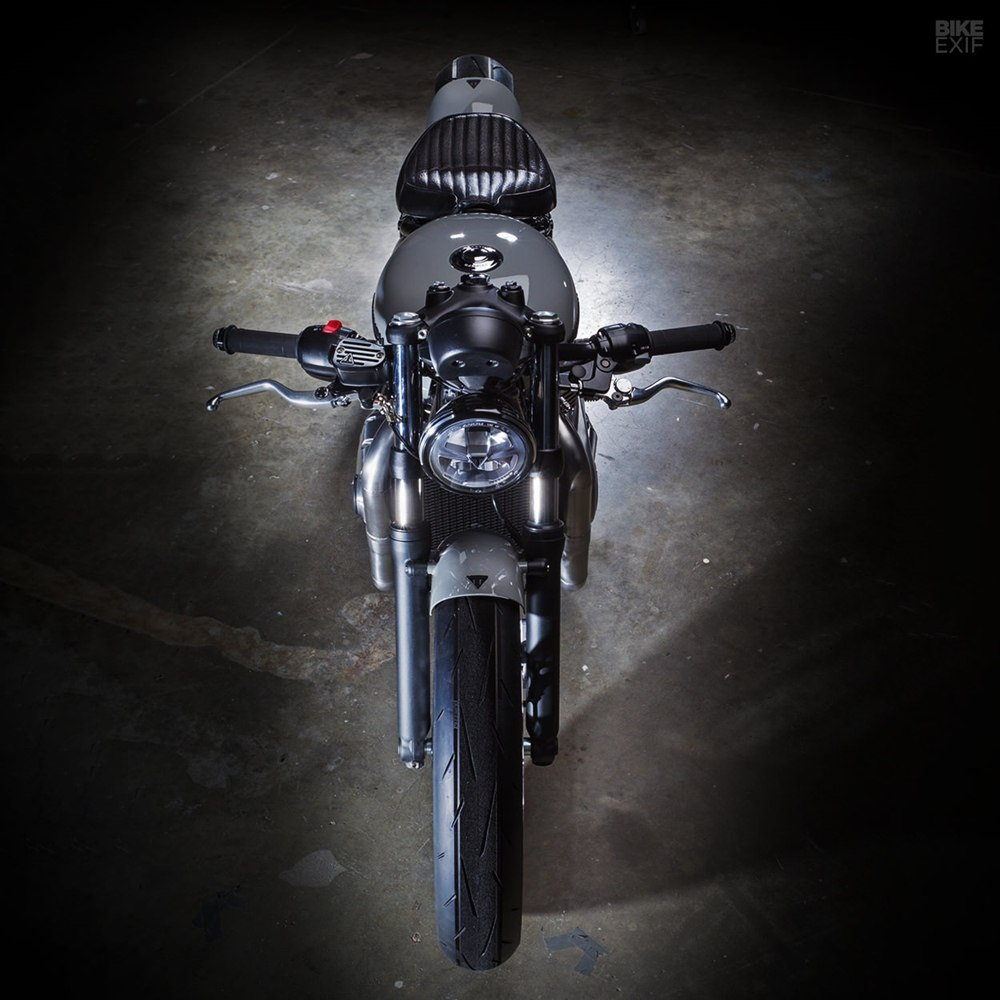 Krugger Motorcycles: кастом Triumph Bobber Hardtail