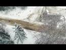 На полигоне под Дмитровом проходят испытания новых мостовых дорожных ограждений. Коптеры «360» сняли краш-тест отбойников