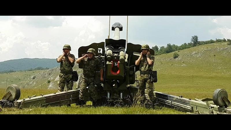 Vatreni skok 2018 - Mešovita artiljerijska brigada Vojske Srbije