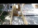 Ремонтные работы жилого дома на улице Атарбекова