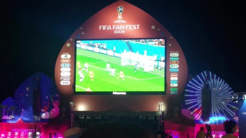 Салах забивает единственный гол сборной России (31 Россия победила) ЧМ2018 WorldCup FIFA