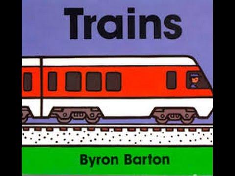 Trains: by Byron Barton: Read by SUPER BooKBoY!
