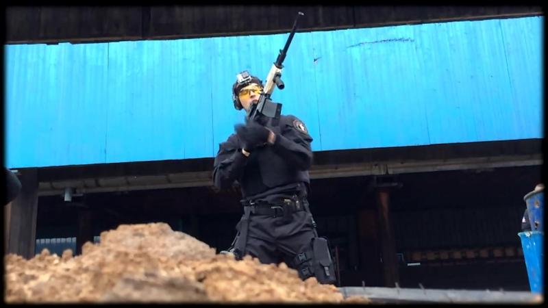Стрельба инкассаторов на сборах по огневой подготовке.ГК СИГМА-ПРОФИ (ЧОП)