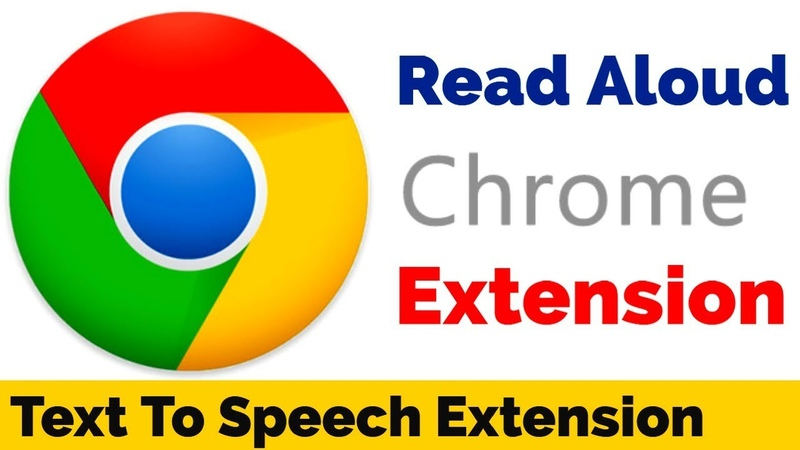 Read Aloud : A Text to Speech Voice Reader (Chrome Extension)