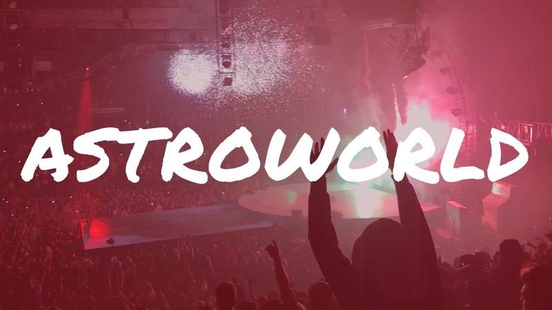Sicko Mode Live | Travis Scott Astroworld Tour 2018 | Baltimore Stop | College Fun Vlog!
