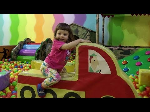 Fun Indoor Playground for Kids and Family at Tilly Willy (part 1 of 3) Детская игровая площадка