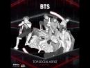 BTS номинированы в категории Top Social Artist!