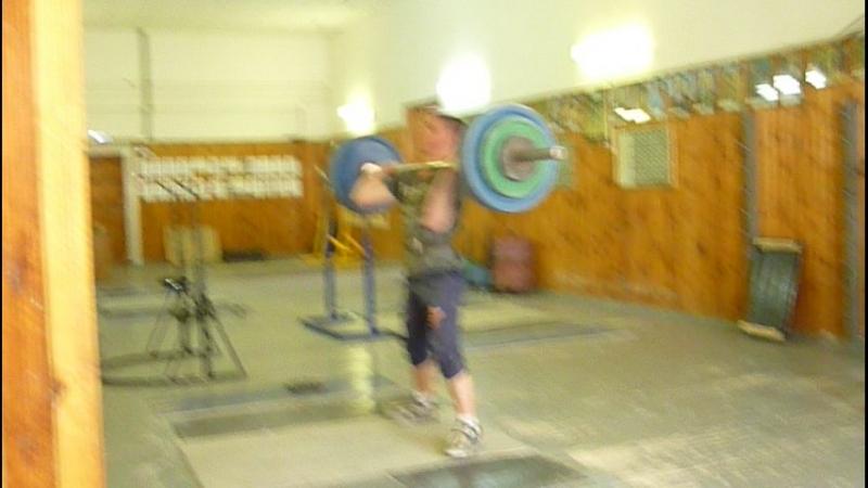 Ваня. 20.04.2018 г. Толчок-125 кг. Норматив МС России.