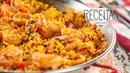 Paella de frutos do mar - Receitas Zaffari