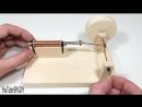Как сделать настоящий соленоидный двигатель своими руками-