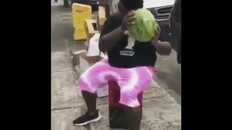 Fat Nigga finds Gab Dalida in a watermelon