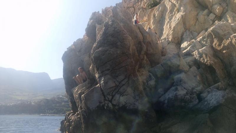 прыжок с адалары