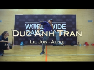 Duc anh tran || lil jon -  alive || worldwide dance camp 2018 || russia