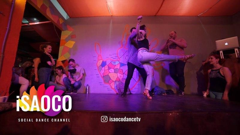 Orestes Romero Lopez and Ana Garcia Animation in Respublica Vosmera, Monday 30.04.2018