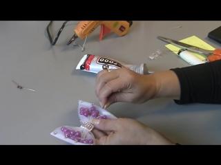 Laço de tule com polinhas - Passo a Passo