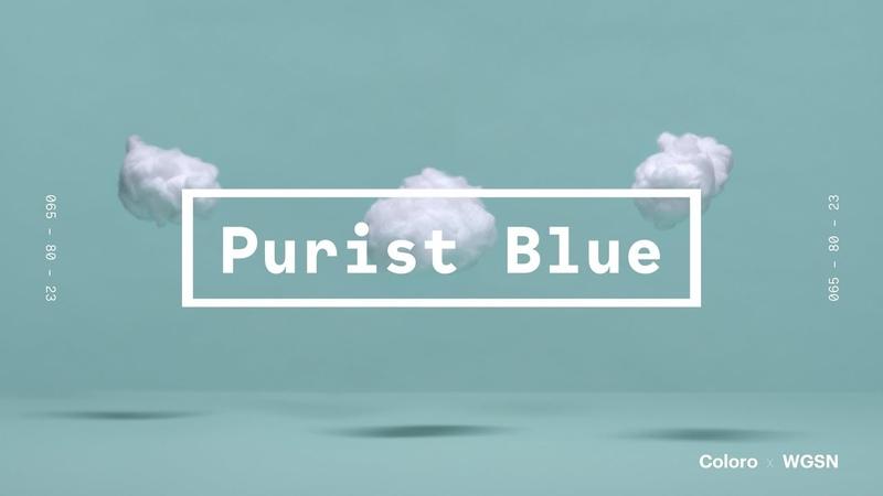 Coloro x WGSN key colors 2020: Purist Blue