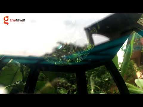 HOT! Đèn trụ năng lượng mặt trời trang trí sân vườn | Giva Solar