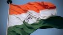 Indian National Flag - Tiranga at Connaught Place, New Delhi, INDIA