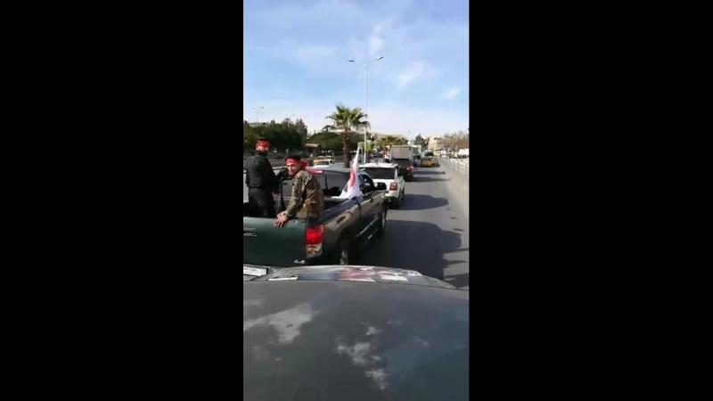 Лива Аль-Кудс направляется в Восточную Гуту