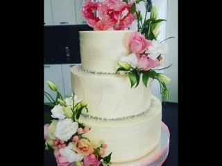 сияние сердец, свадебный торт